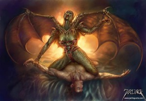 Sexual spirit encounters with succubus